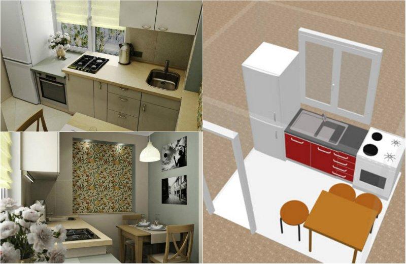 рабочее пространство на кухне