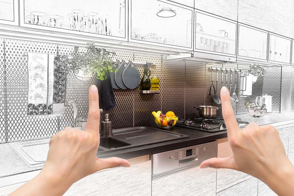Дизайнер молитвенно складывает руки и просит не допускать подобного на своей кухне