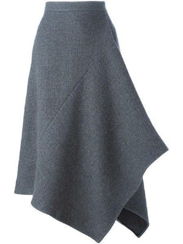 интересные юбки спицами