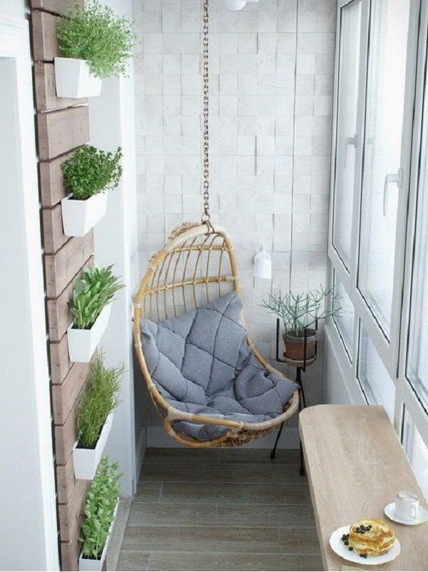 дизайн и интерьер балкона