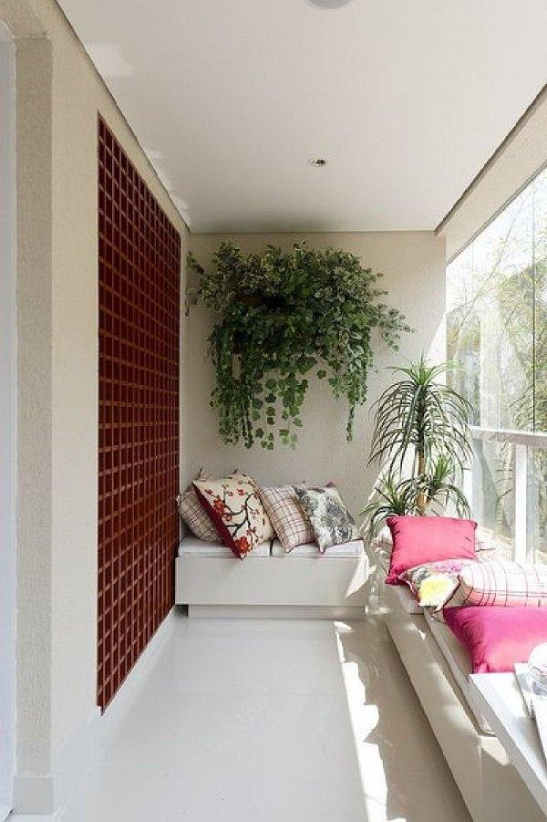 интерьер балкона совмещенного с комнатой