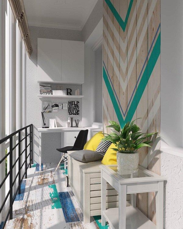 интерьер балкона фотографии