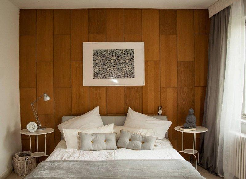 интерьер в небольшой спальне