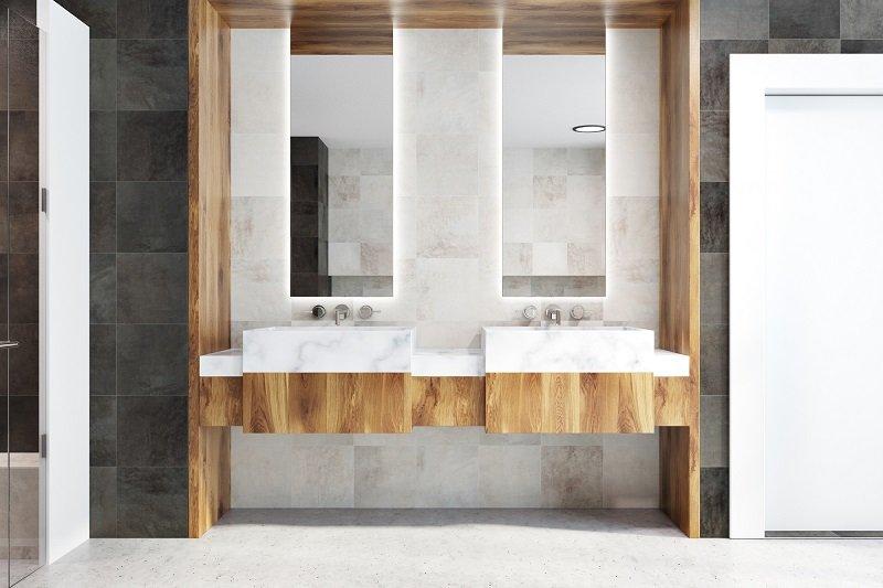 Как обустроить маленькую ванную комнату Вдохновение