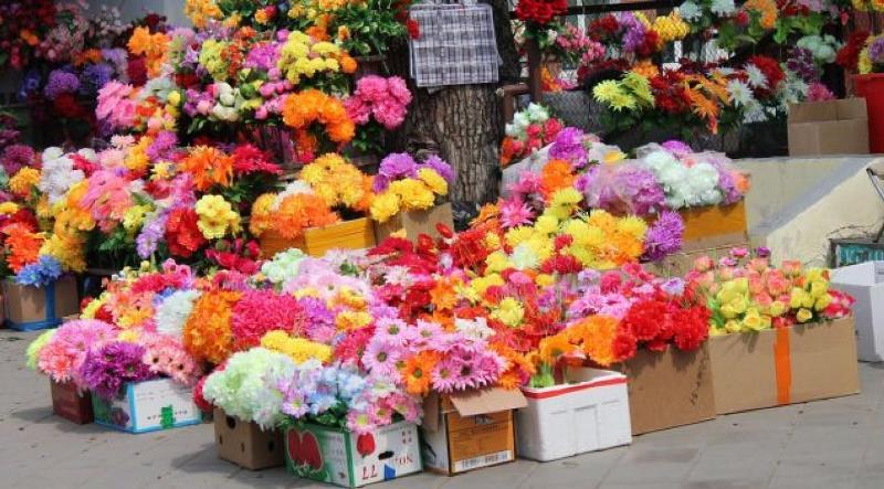 искусственные цветы для кладбища