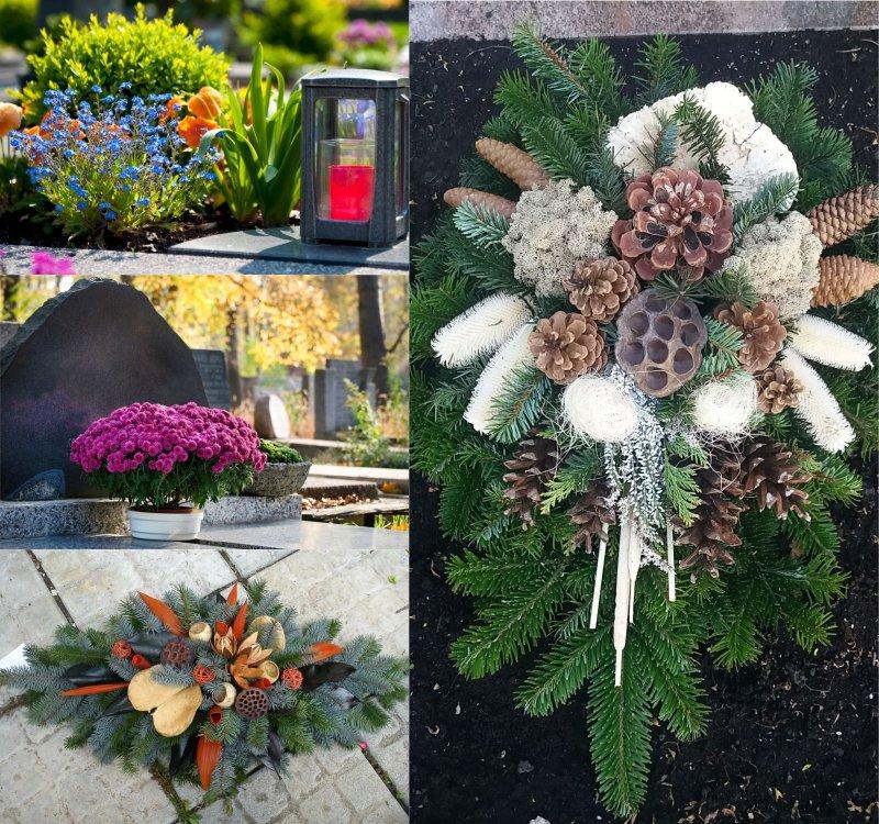 из чего делают венки на кладбище