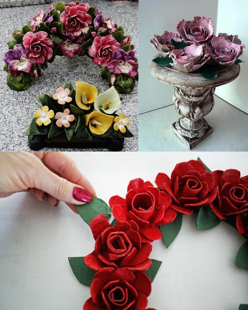 искусственные цветы для интерьера своими руками