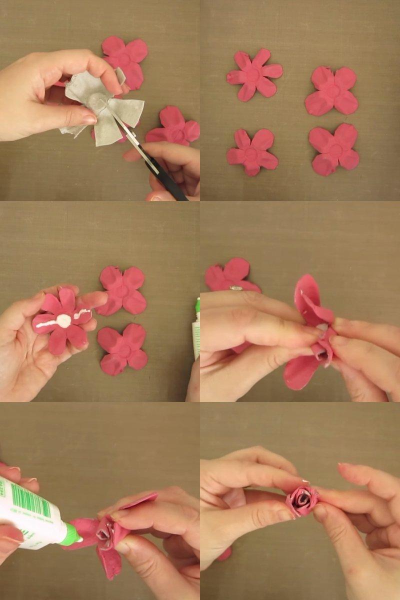 букеты искусственных цветов своими руками