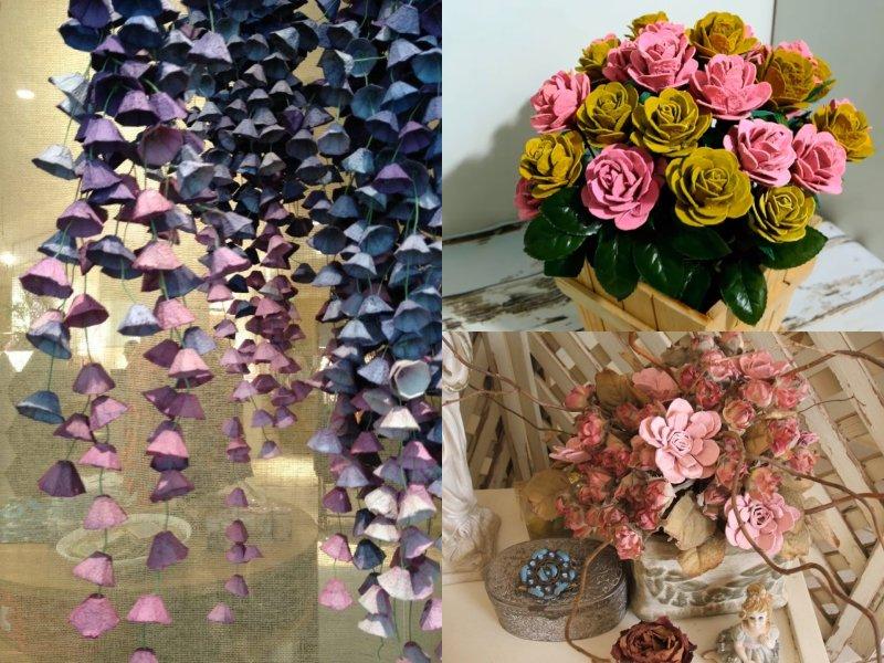 как делать искусственные цветы своими руками