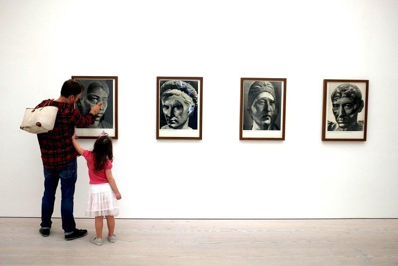 искусство глазами детей