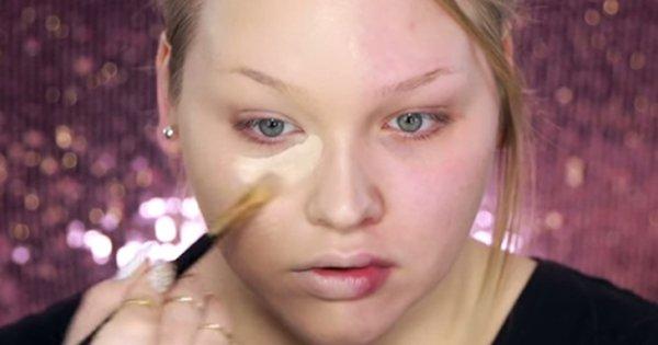 Эта девушка взяла в руки кисть и показала всем, что такое искусство макияжа!