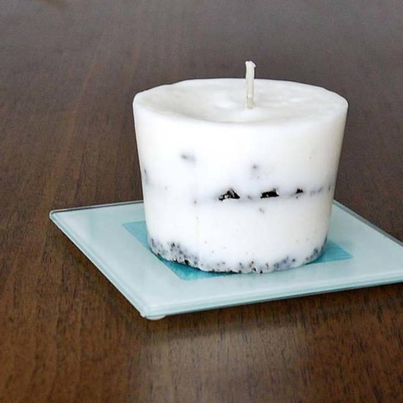 кофейная свеча