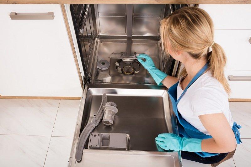 необычное использование посудомоечной машины