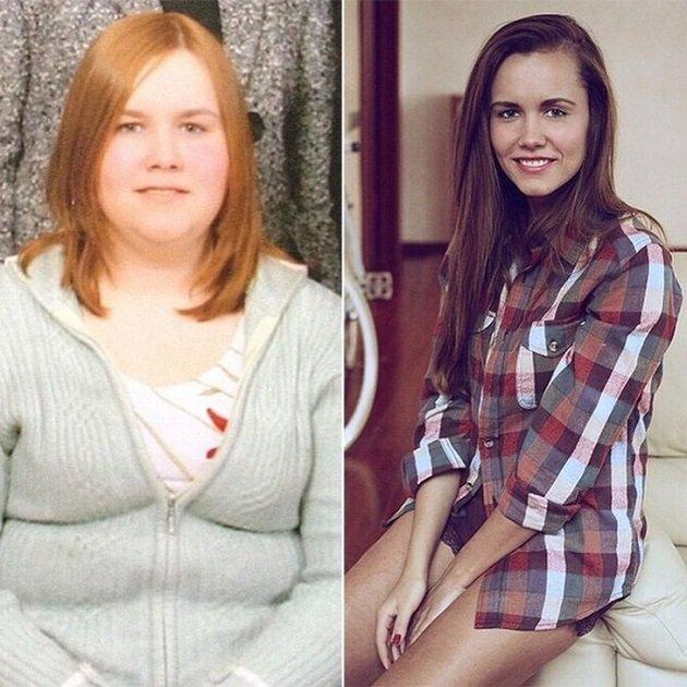 Когда-то она весила 105 килограммов… История похудения, которой хочется делиться!