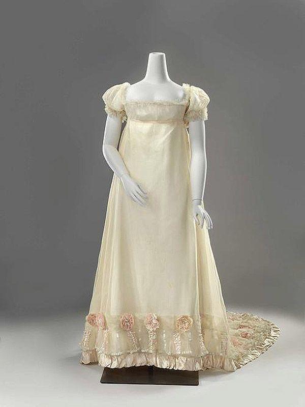 свадебное платье 1808 год