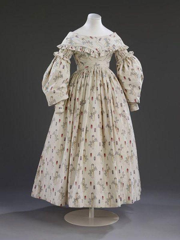 свадебное платье 1837 год