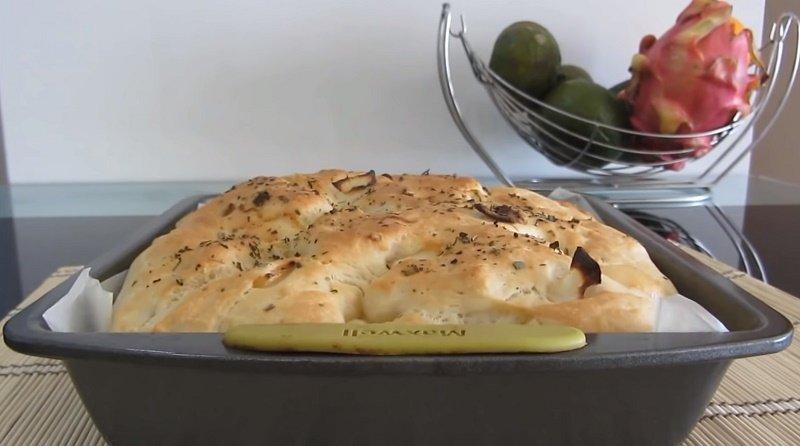 Как приготовить итальянский хлеб Кулинария,Италия,Кухня,Лук,Сыр,Хлеб
