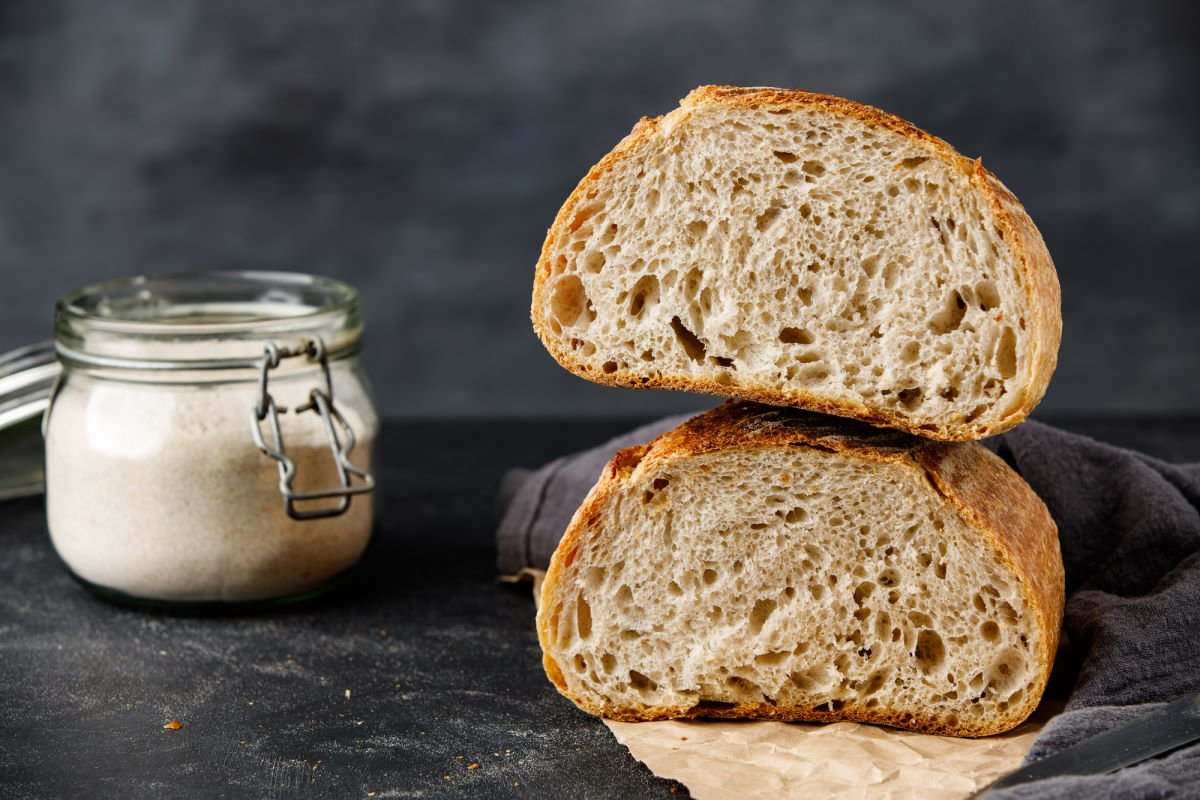 итальянский хлеб на закваске
