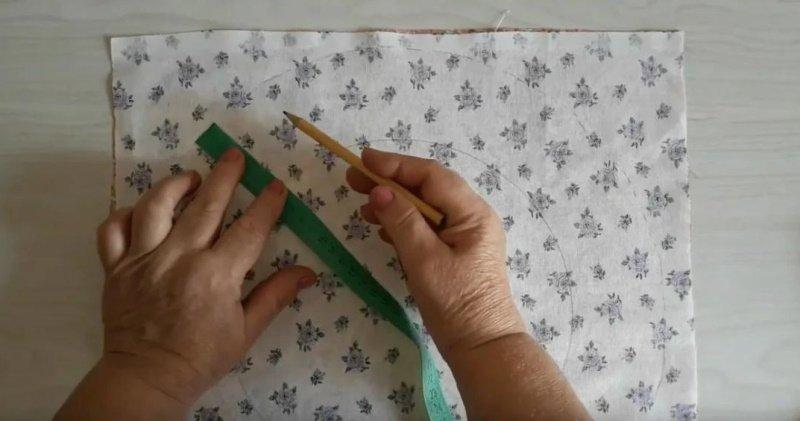 поделки из ткани для кухни своими руками