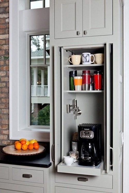 шкаф для кофе