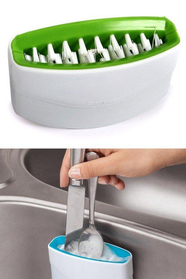 приспособление для мытья столовых приборов