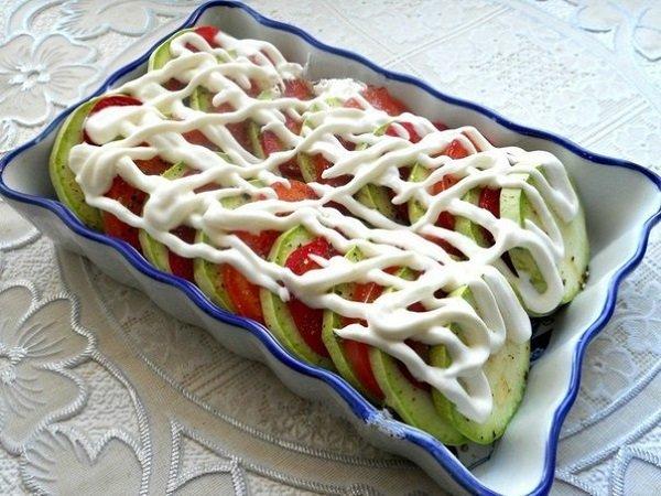 Рецепт кабачки баклажаны помидоры сыр