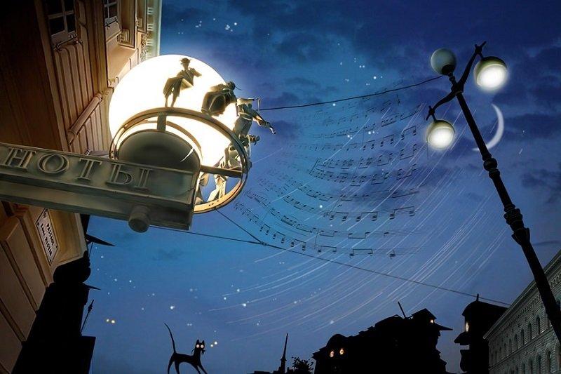 музыка на ночь