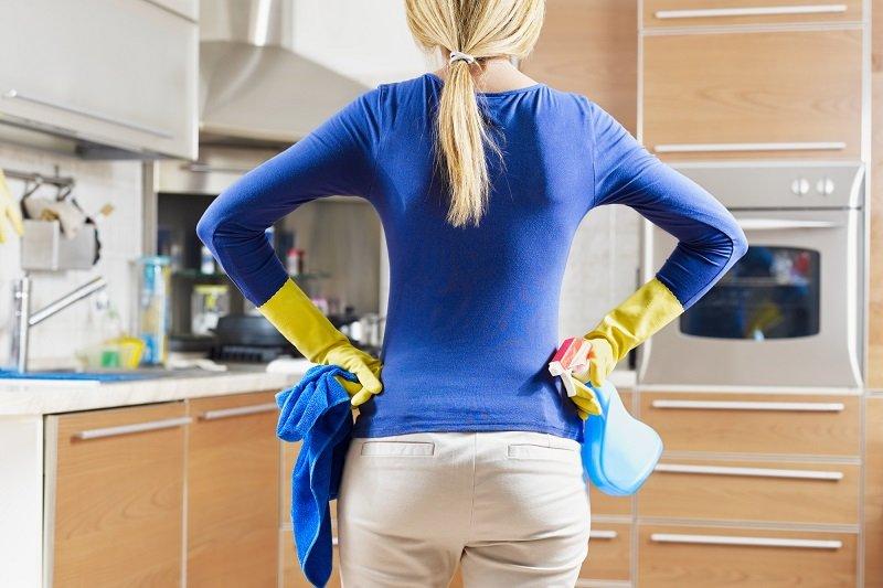 Как полюбить уборку на кухне