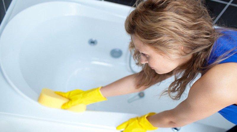 чистка ванны фото