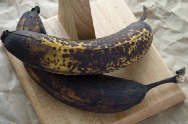 переспелые бананы
