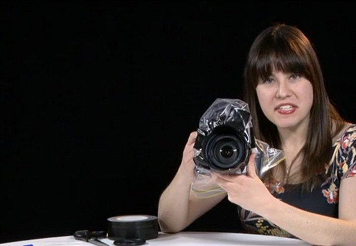 водонепроницаемый чехол для фотоаппарата своими руками