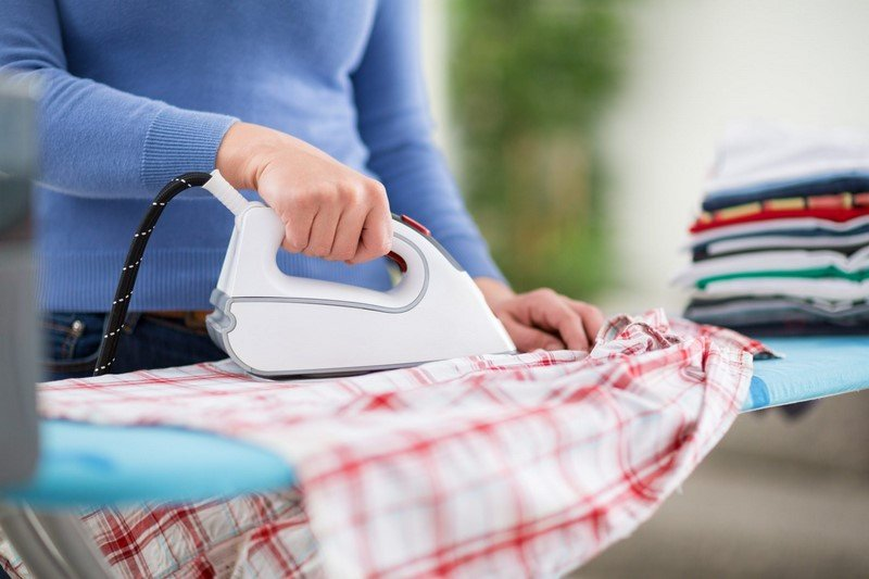 как гладить рубашку мужскую