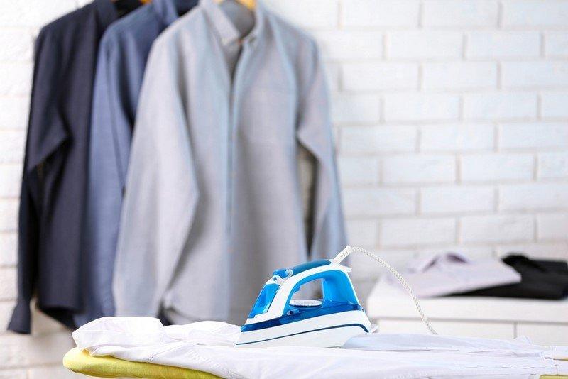 как гладить рубашку правильно