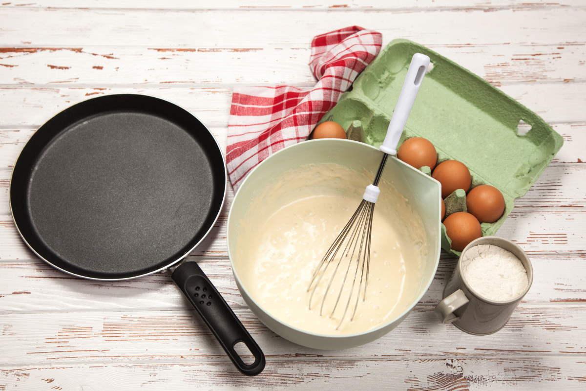 блины на молоке ажурные без яиц