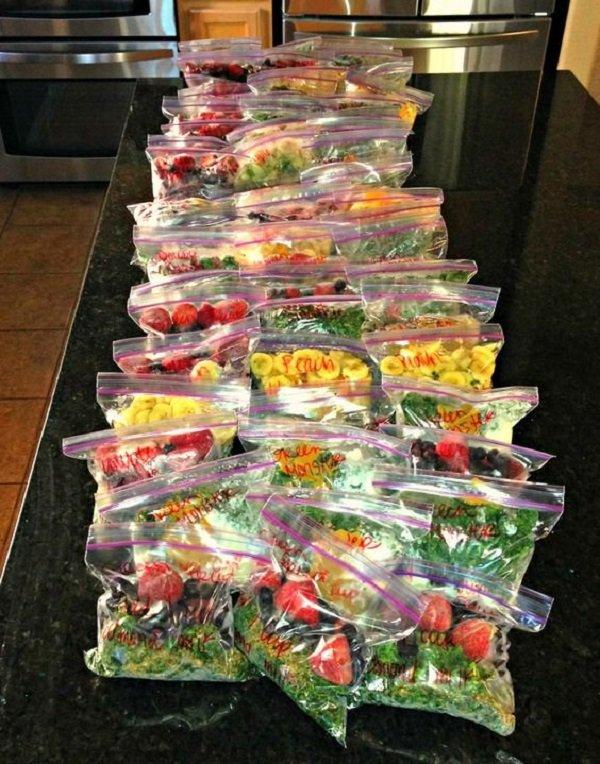 как хранить овощи в морозильной камере
