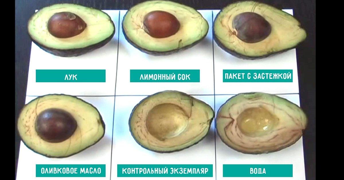 Как хранить разрезанный авокадо в домашних условиях