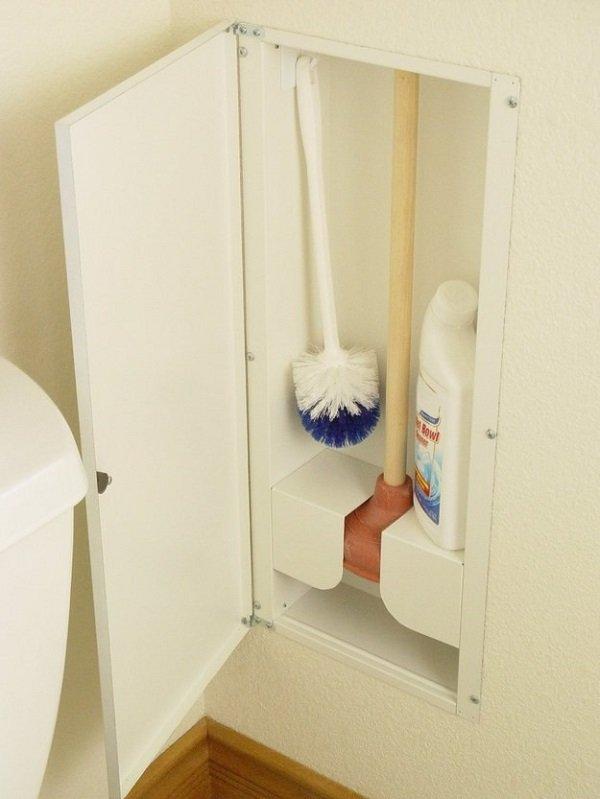 встроенный шкафчик для санузла