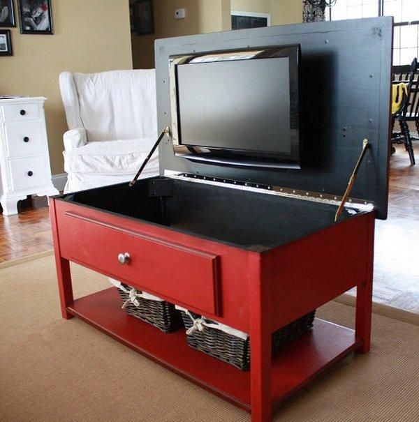 телевизор в столе