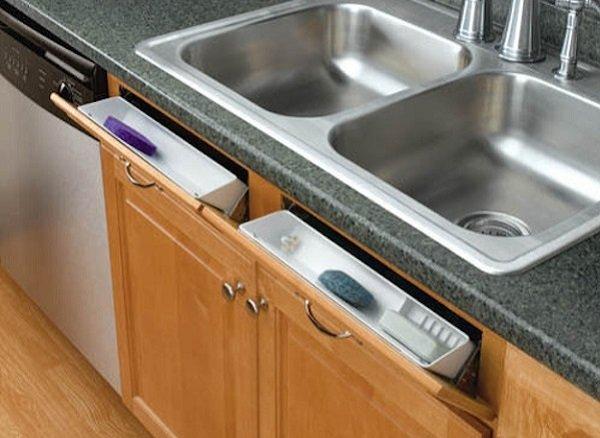 полочка для кухонных губок