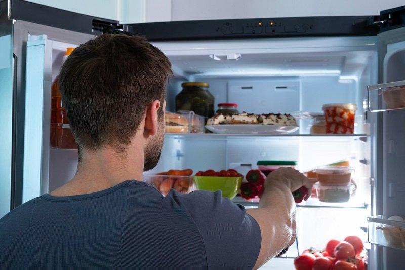холодильник внутри фото