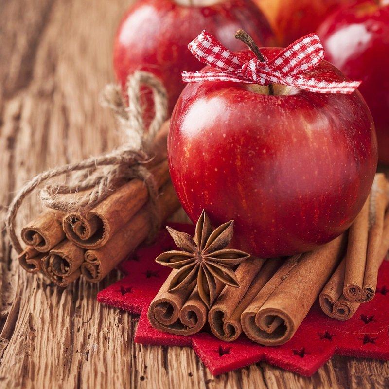 немецкий яблочный блин