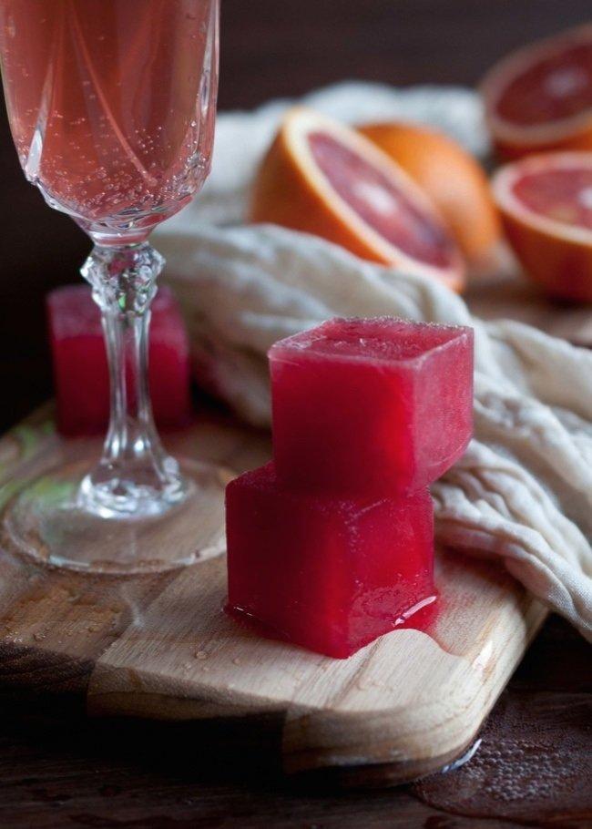 сок апельсина и грейпфрута