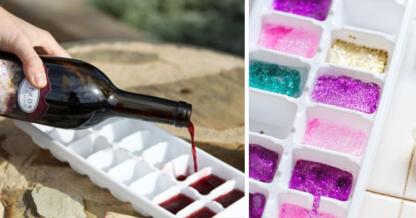 19 потрясающих способов применения формочек для льда. Блистательные решения!