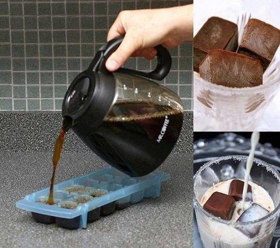 замороженное кофе