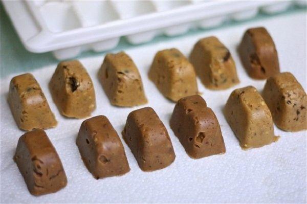 десерт из арахисовой пасты
