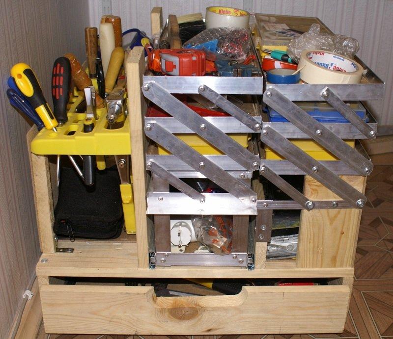 Переносные ящики для инструментов своими руками 570