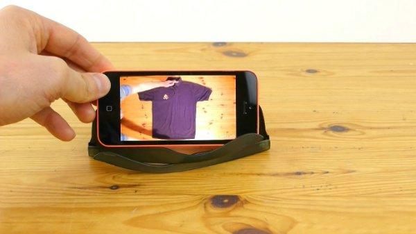 подставка для телефона из очков