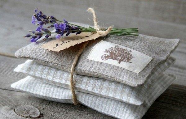 подушечки с лавандой