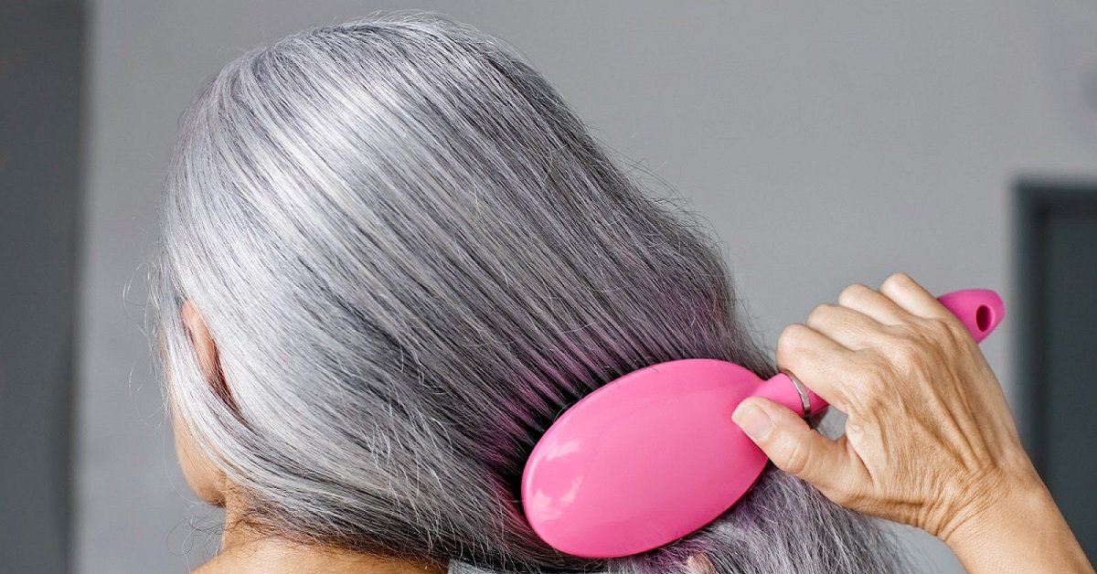 Сделать седые волосы в домашних условиях