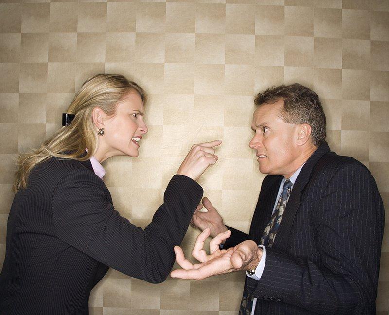спор и ссора